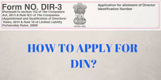How to apply for DIN or Director Identification Number? - CS Kruti Gogri
